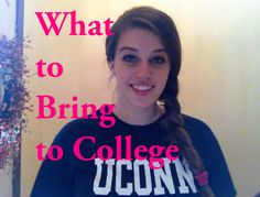 Hey Pre-Collegiettes! Figuring out what to take with you when you go away to college is a lot easier than it sounds. Many stores try to sell you items that you do not need to bring along with you, which makes things confusing when trying to find a good list of what to take along with you more difficult. In this video I talk about the things you do and don't need to bring along with you to college!