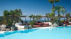 Hotel Hacienda Na Xamena, Ibiza, Spain Wonderful hotel but far away from all the action the island is known for. Hotel Ibiza, Ibiza Town, Hotel Pool, Hotel Spa, Spa Luxe, Luxury Spa, Luxury Travel, Hotels And Resorts, Best Hotels