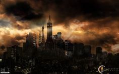 Gotham City by ribot02 on DeviantArt