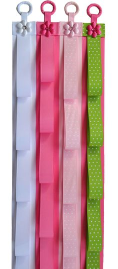 ONE  Handmade Ribbon Headband Holder by Funnygirldesigns on Etsy, $19.99