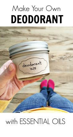 Safe products for you: DIY Deodorant Recipe. Make your own DIY Home Products with Essential Oils | Healthy Living at How I Sustain Blog