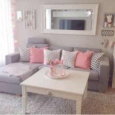 27 ideas de decoración de interiores gris con rosa http://cursodeorganizaciondelhogar.com/27-ideas-de-decoracion-de-interiores-gris-con-rosa/ 27 ideas of interior decoration gray with rose #27ideasdedecoracióndeinterioresgrisconrosa #Coloresparadecorartucasa #Decoracion #Decoraciondeinteriores #Ideasdedecoracion #interioresmodernos #Tipsdedecoracion