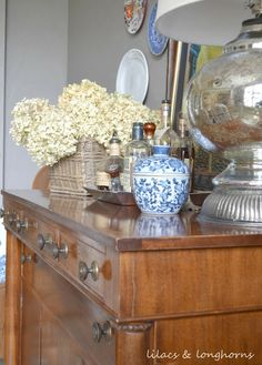 Savvy Southern Style: My Favorite Room....Lilacs and Longhorns