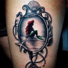 @jeffsaunderstattoo i Amo Disney amo la Sirenita