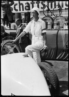 Racing driver Beatrice Gilka Botzow