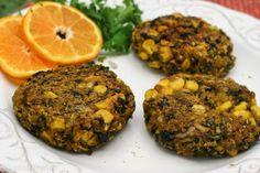 Quinoa Blackbean Corn Burgers laced with turmeric, cumin and ginger! Vegan and gluten free