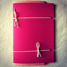 Quadernetto Pink - Pink Mini Notebook