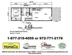 Athens Park Homes Model 405