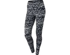 Nike Ladies Printed Relay Cropped Running Tights at Amazon Women's Clothing store: