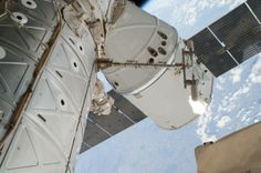 NASA Space X Great Red Dragon Photos | , 2014 file photo provided by NASA shows a photo of the SpaceX Dragon ...
