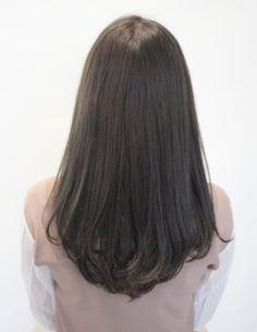 Adult Cute Natural One Curl Perm Haircuts Straight Hair, Haircuts For Medium Hair, Haircut For Thick Hair, Medium Hair Cuts, Braids For Long Hair, Long Hair Cuts, Medium Hair Styles, Curly Hair Styles, Korean Hair Color