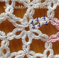 tatting - learn crochet first, then this!!