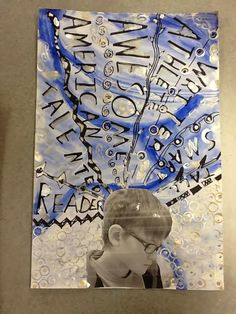 WHAT'S HAPPENING IN THE ART ROOM??: 4th Grade Self Portraits