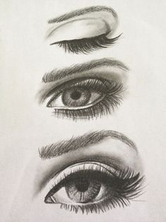 Good way to practice drawing eyes and making them proportionate More