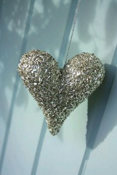 It's all about Hearts ♡ silver glitter heart. Heart In Nature, I Love Heart, Fire Heart, Key To My Heart, Happy Heart, Heart Art, Heart Pics, Humble Heart, Heart Pictures