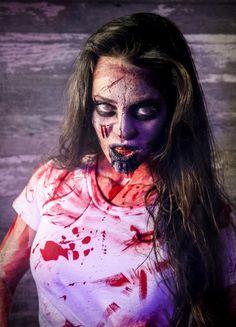 Evil Dead Zombie Makeup