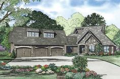 Eplans Prairie House Plan - X Marks the Spot - 5884 Square Feet and ...