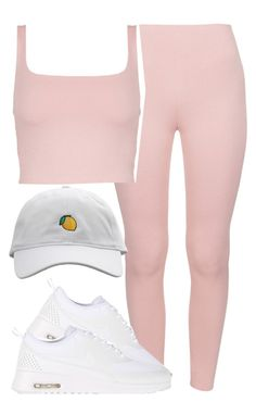 """932"" by tuhlayjuh ❤ liked on Polyvore featuring NIKE"