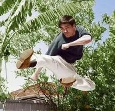 Bruce Lee - jump side kick