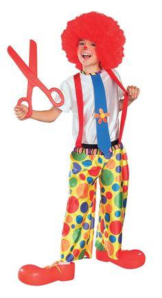 Clown manteau pantalon costume robe fantaisie