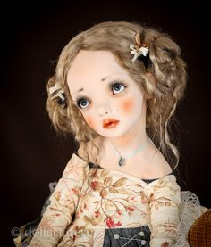 Baby. Art doll by Alisa Filippova