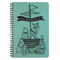 Not all Who Wander Design Sketch Book