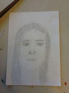 zelfportret m2a tekenen