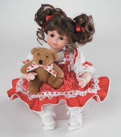 Marie Osmond looks like a Valentine doll....