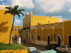 The town of Izamal