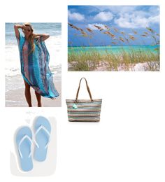 """""""Ocean Breeze"""" by snazzydiva2002 on Polyvore featuring art"""