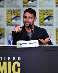"Wilmer Valderrama Photos Photos - Actor Wilmer Valderrama attends CBS Television Studios Block Including ""Scorpion,"" ""American Gothic"" And ""MacGyver"" during  Comic-Con International 2016 at San Diego Convention Center on July 21, 2016 in San Diego, California. - Comic-Con International 2016 - CBS Television Studios Block Including ""Scorpion,"" ""American Gothic"" And ""MacGyver"""