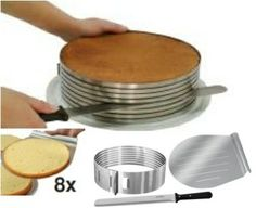 image layer cakes | cake slicing mold fits cakes 10 to 11 diameter slices up to 8 layers ...