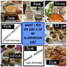 WIAW #20: What I ate on day 5 of my elmination diet
