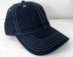 LEVIS Mens One Size Navy Blue Hat Cap with Adjustable Strap NWT #Levis #BaseballCap