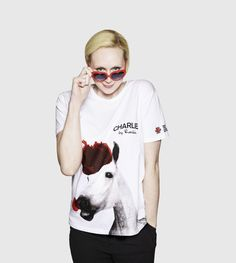 Gwendoline Christie (Brienne) joins t-shirt campaign for Red Nose Day