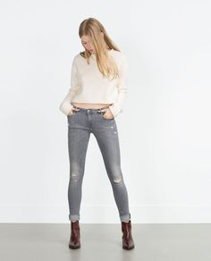 ZARA - COLLECTION AW15 - JEGGING BODY CURVE