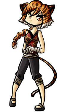 pics of tigress kung fu panda anime version | Tigress by Rumay-Chian