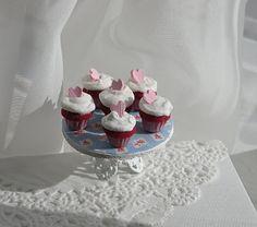 Heart cupcakes