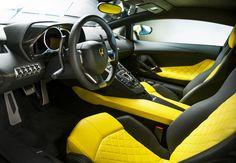 Delightful, impressive interiors...Aventador at Shanghai Motor Show