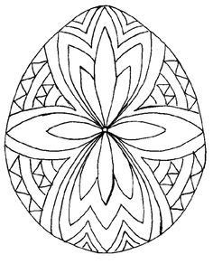 Egg 4 565x700 59Kb ColoringColoring PagesColoring BooksEaster DesignsUkrainian