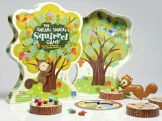 I might have to get myself one of these - the sneaky snacky squirrel game! It seems to come with adorable acorns.