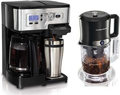 Special Offers - Hamilton Beach 49983 2Way Single Serve Coffee Brewer & Iced Coffee/Tea Maker Kit - In stock & Free Shipping. You can save more money! Check It (March 31 2016 at 06:05AM) >> http://coffeemachineusa.net/hamilton-beach-49983-2way-single-serve-coffee-brewer-iced-coffeetea-maker-kit/