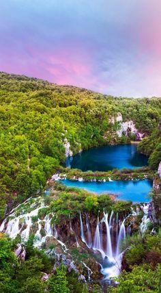 Plitvice Lakes National Park, Karlovac, Croatia