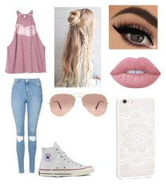 Idk By Dozierisis On Polyvore Featuring Polyvore Fashion Style Rvca Topshop Converse Jfr Ray
