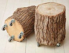 Diy Bedroom Decor, Diy Home Decor, Wood Stumps, Bois Diy, Log Furniture, Wood Creations, Farmhouse Wall Decor, Metal Wall Decor, Woodworking Crafts