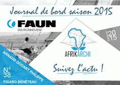 AFRIKArchi   Partenaire Officiel de la 46e Edition de la Course Solitaire du Figaro - Arnaud Goddart Philippe