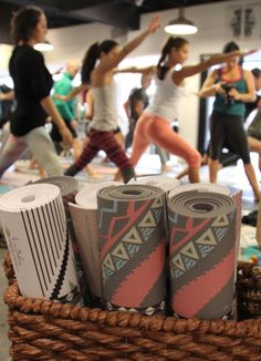 Pattern Yoga Mats! #mandala #navajo #warrior #laviebohemeyoga