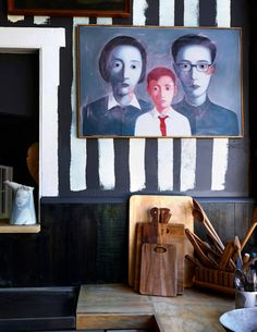 The home of David Bromley for The Design Files Interior Exterior, Home Interior, Luxury Interior, David Bromley, Interior Inspiration, Design Inspiration, Interior Design Courses Online, Liquorice Allsorts, Dark Living Rooms