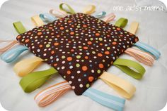 Tag Blankets for babies