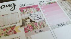 Plan With Me - Erin Condren Life Planner Week 35 ♡ 2016 Timelapse